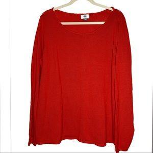 Old Navy sz XXL true red sweater